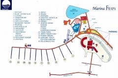 Mapa marina Frapa